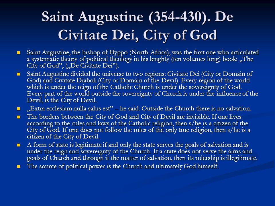 Saint Augustine (354-430).