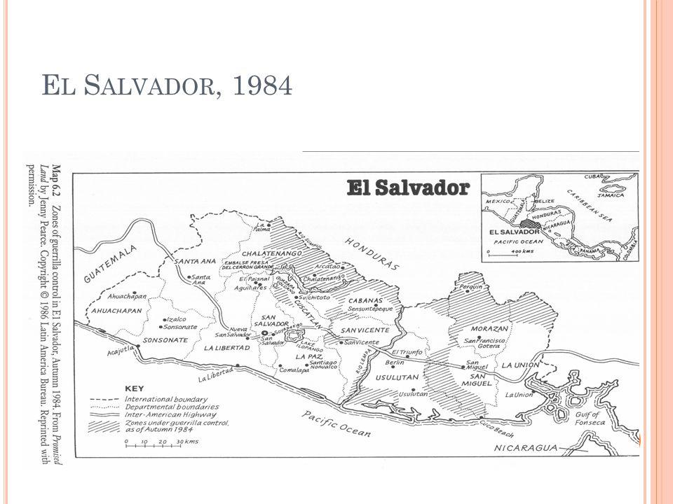 E L S ALVADOR, 1984