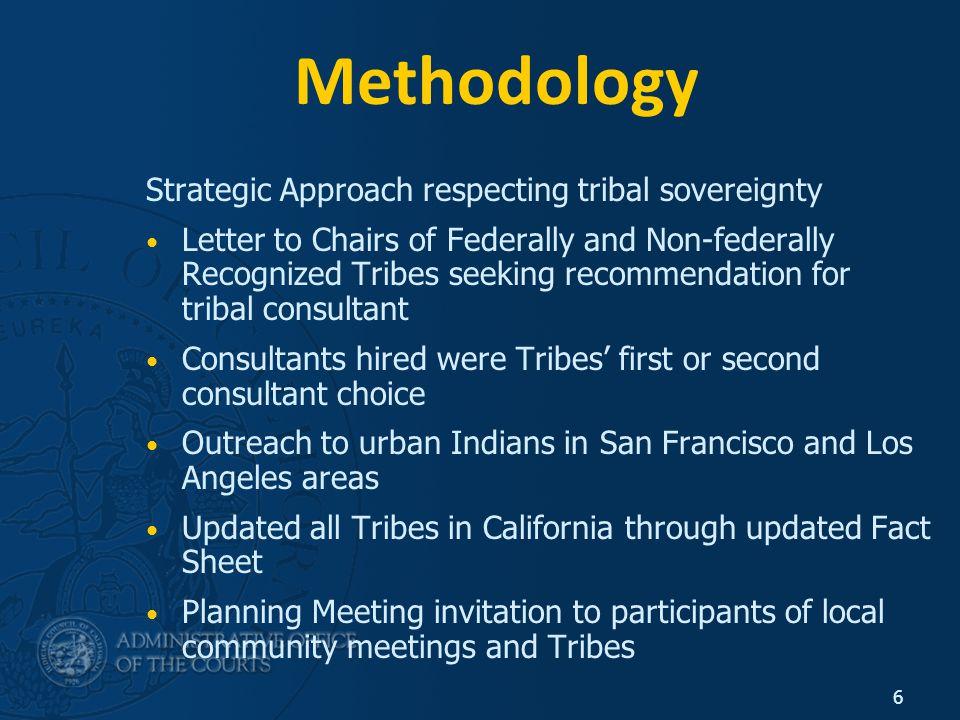 7 Community Meetings 17 community meetings held Approximately 500 Native people: Service providers Advocates Tribal Leaders Elders Interested Community Members Victim/Survivors