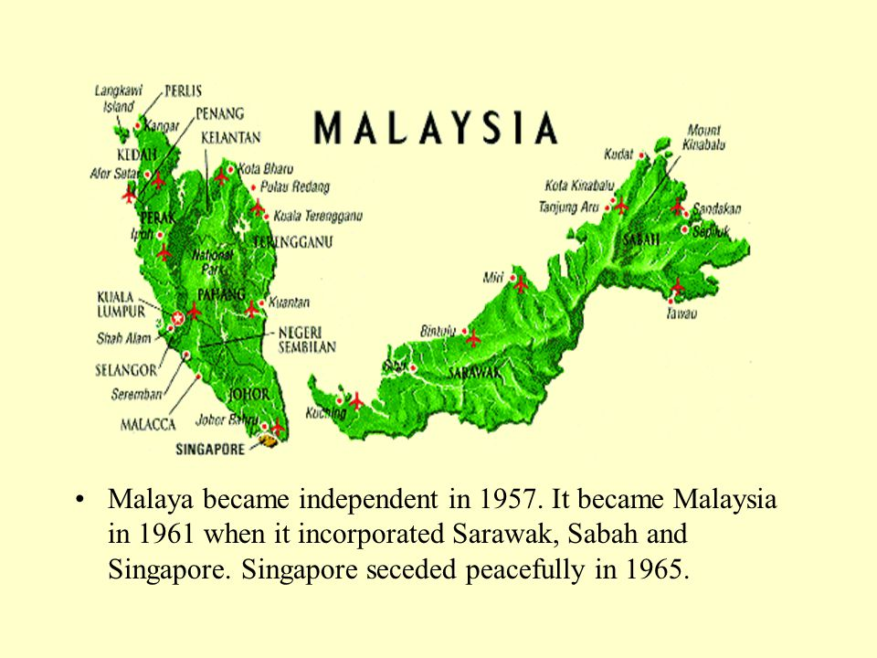 Institutions Military.Malaysia has maintained only a minimal national force.