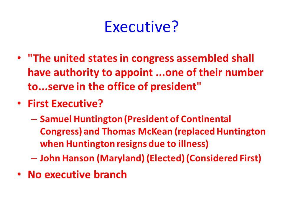 Executive?