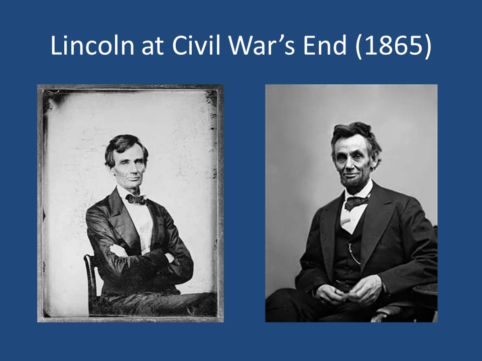 Lincoln at Civil War's End (1865)