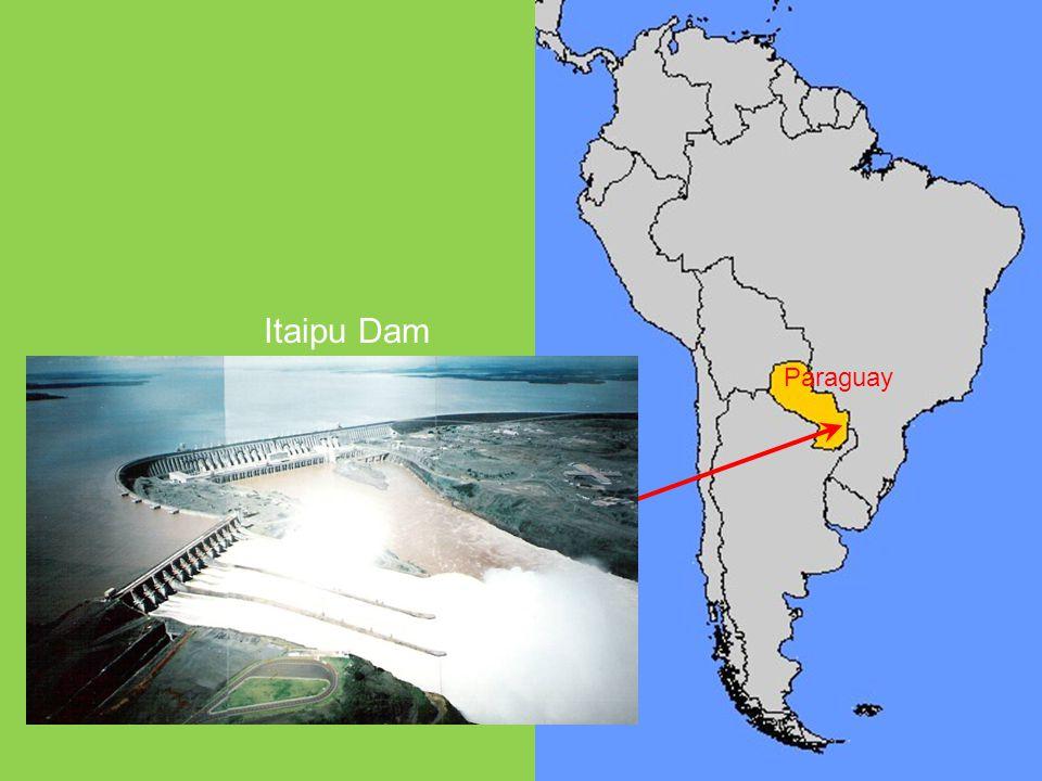 Paraguay Itaipu Dam