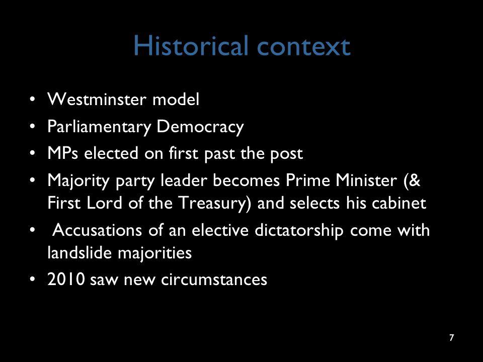 Contempt of Parliament (p11) 28
