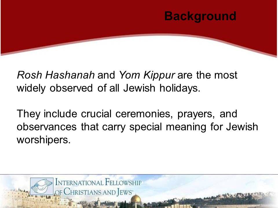 Commemoration: Yom Kippur Jews observe five prayer services during Yom Kippur:  Maariv is conducted on the eve of Yom Kippur.