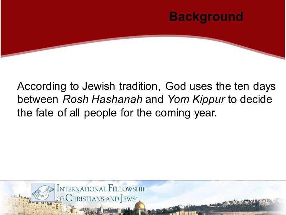Jews perform the Tashlikh ceremony on the first day of Rosh Hashanah.