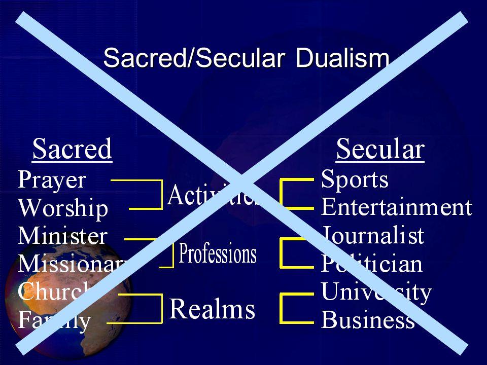 Sacred/Secular Dualism