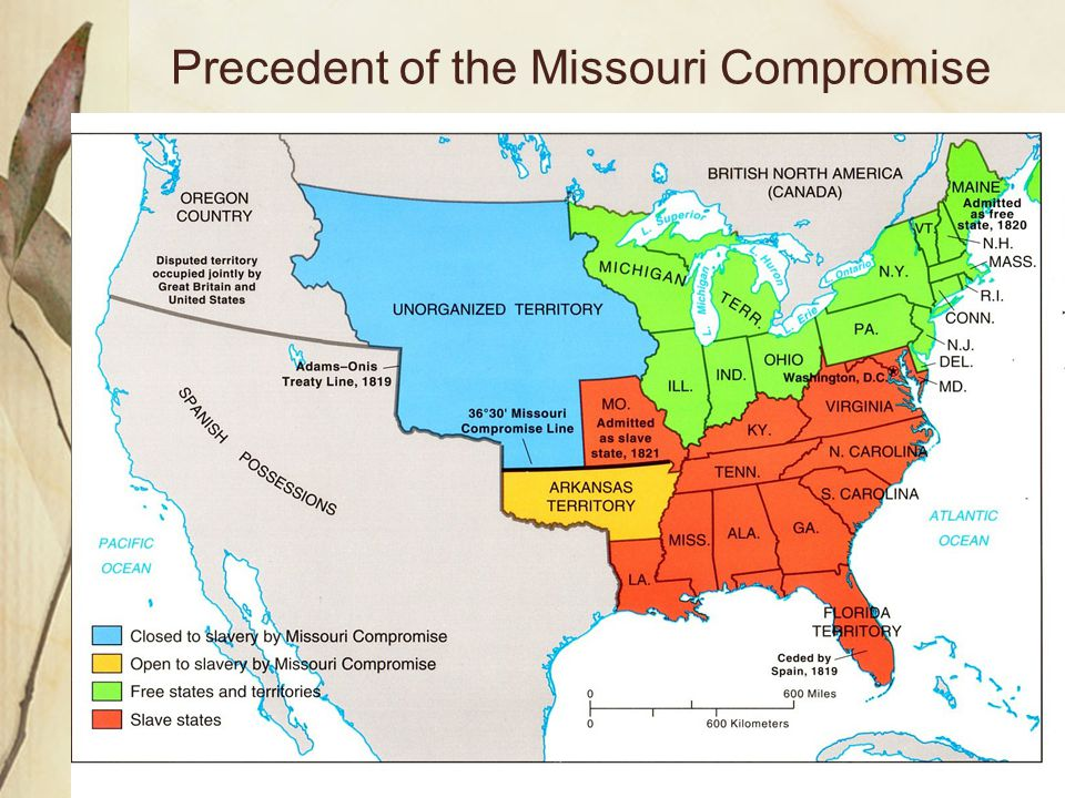 Precedent of the Missouri Compromise