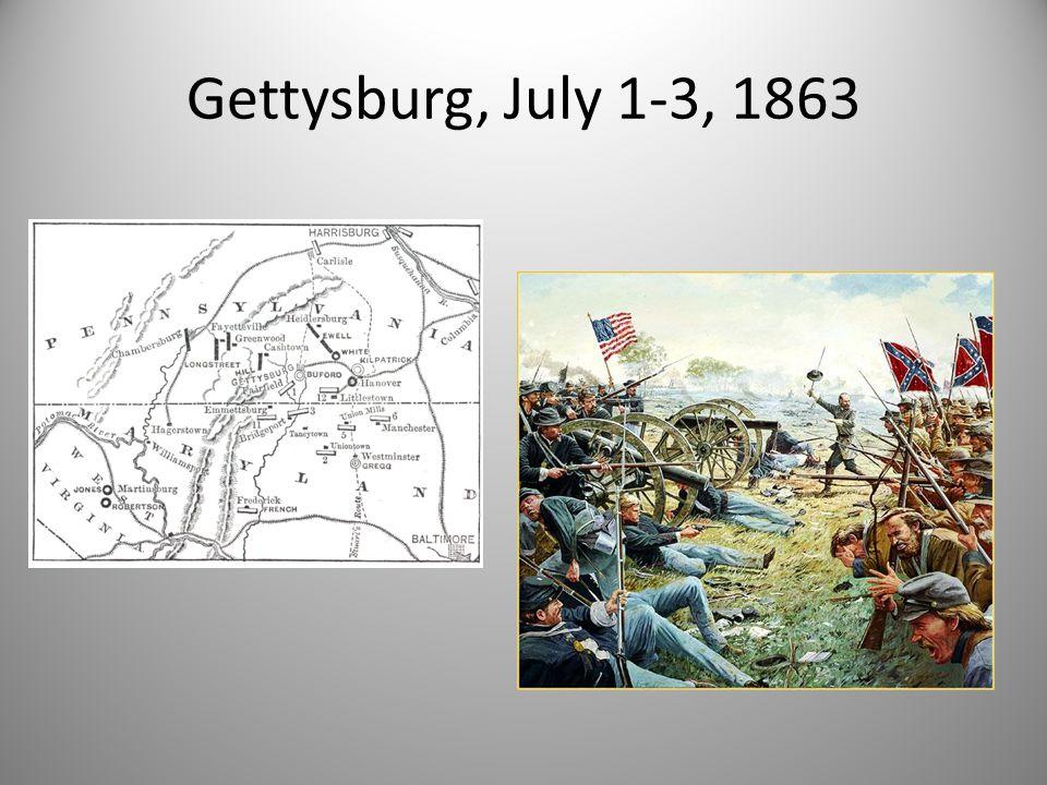 Gettysburg, July 1-3, 1863