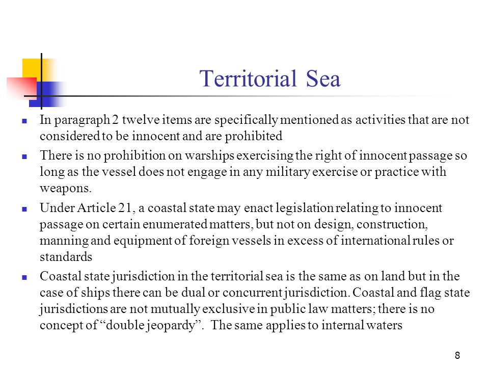 Contiguous Zone UNCLOS Article 33 (in Part II) is the only provision; paragraph 1 contains the definition which simply states that it is a zone contiguous to the territorial sea .