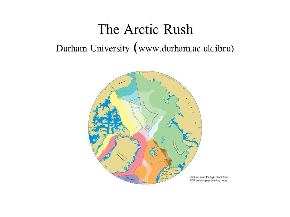 The Arctic Rush Durham University ( www.durham.ac.uk.ibru)