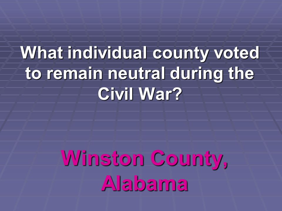 Winston County, Alabama