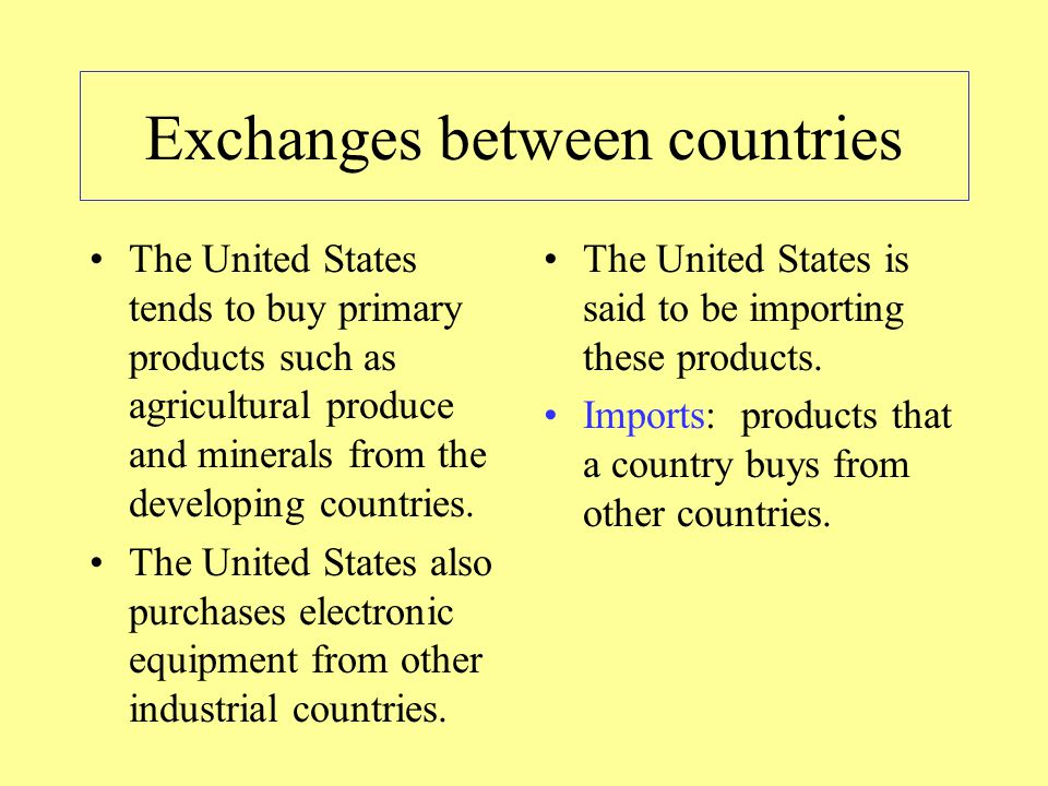 Why is it important to distinguish between developing and industrial countries.