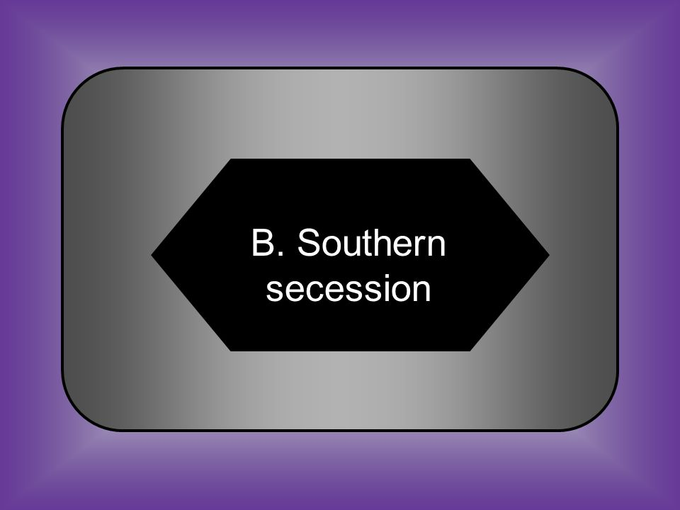 A:B: Foreign military conflict Southern secession #19 In 1860, Lincoln was aware of what conflict facing his new presidency.