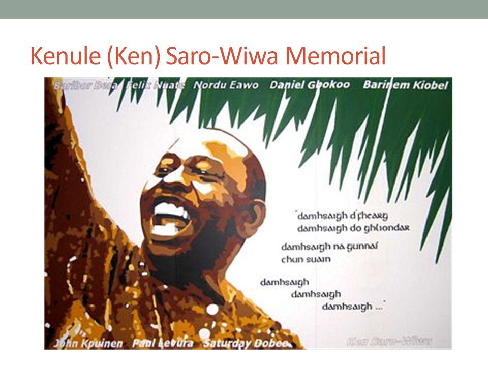 Kenule (Ken) Saro-Wiwa Memorial