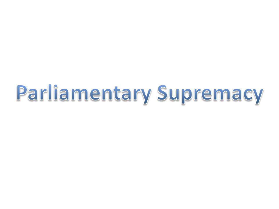 Who has supremacy?