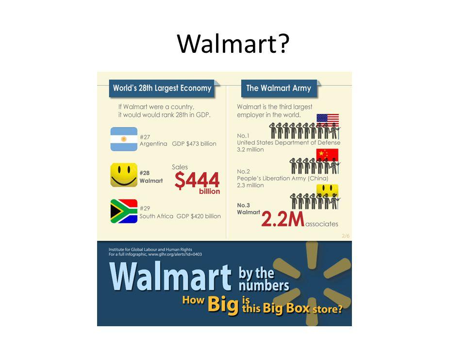 Walmart?