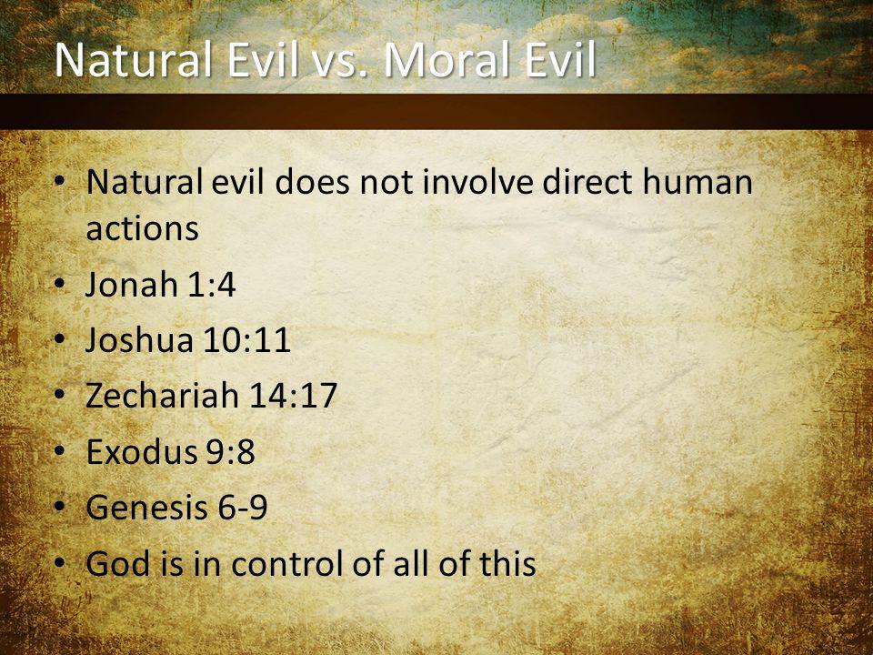 Natural Evil vs.