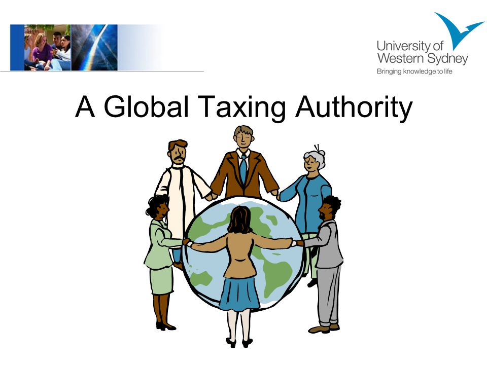 A Global Taxing Authority