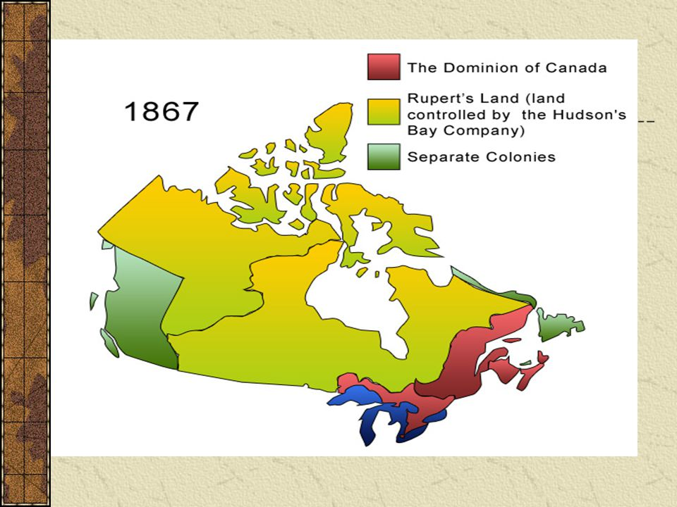 Canada Purchases Rupert's Land John A Macdonald and D'Arcy McGee wanted to create a country stretching from sea to sea The HBC wanted to sell Rupert's Land because the fur trade was declining and they were finding it difficult to maintain control over such a large territory