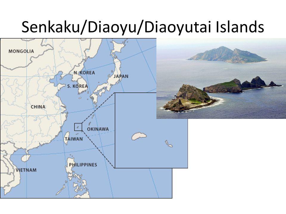 Senkaku/Diaoyu/Diaoyutai Islands