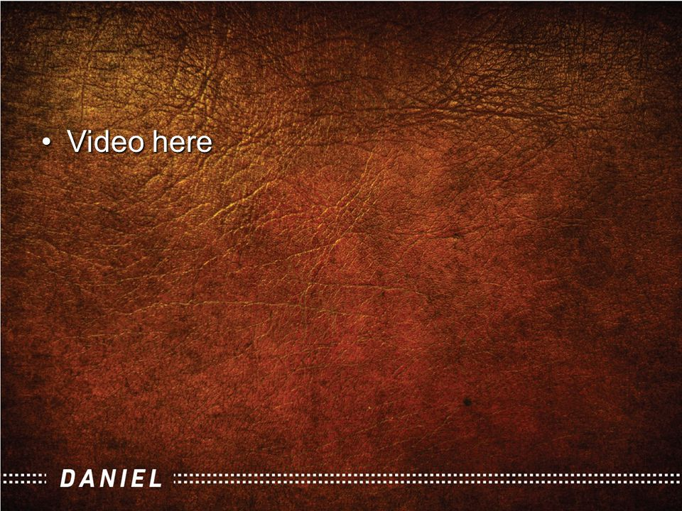 Video hereVideo here