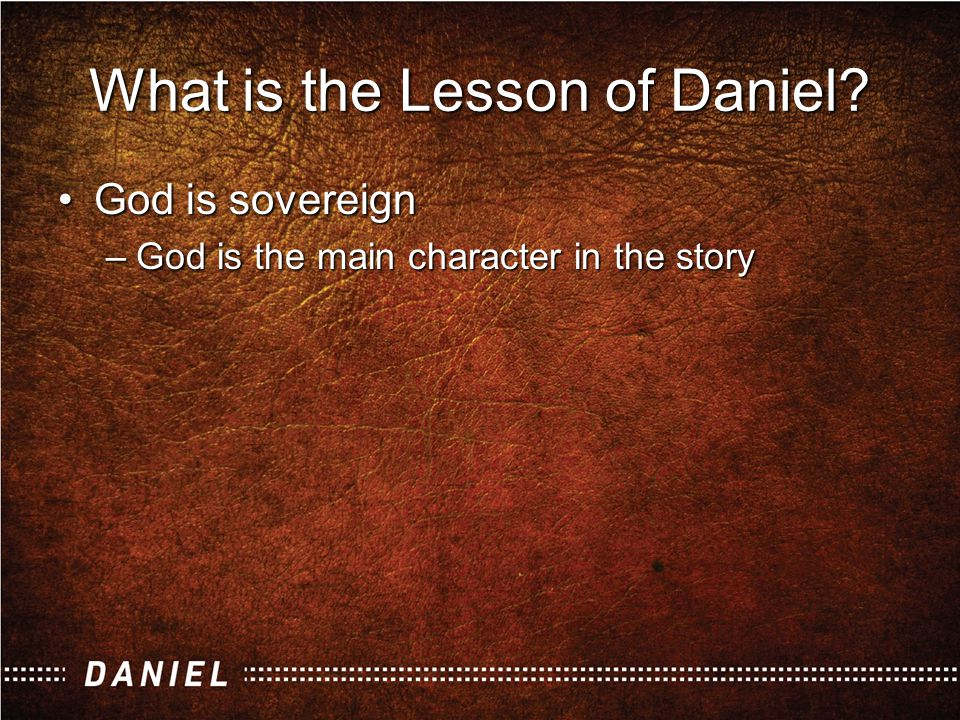 The sovereignty of God.What do we mean by this expression.