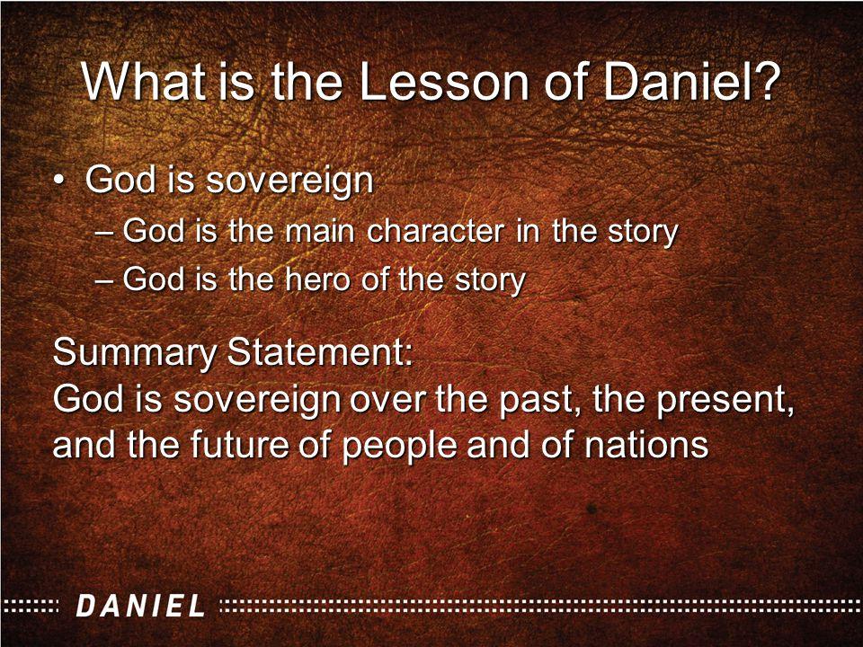 Daniel Background