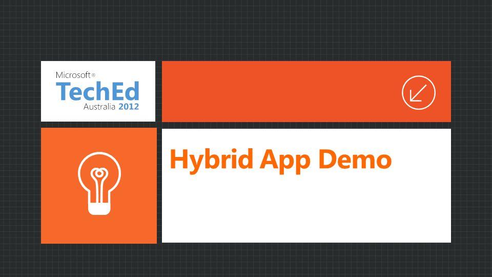 Hybrid App Demo