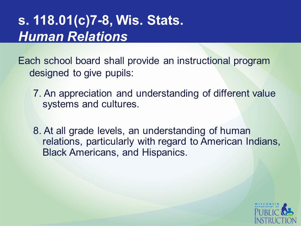 s. 118.01(c)7-8, Wis. Stats.