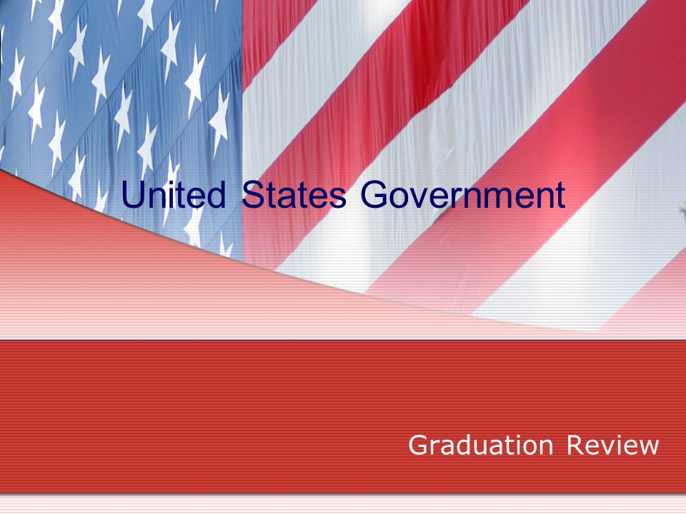 Six Principles of United States Government Popular sovereignty Federalism Separation of Powers Checks and Balances Judicial Review Limited Government