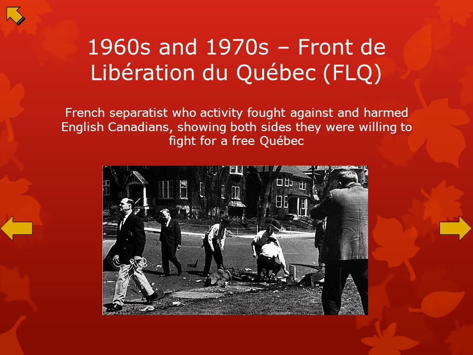 Separatist Movement – De Gaulle's Speech at the 1967 Expo Enraged English Canadians and encouraged French Canadians to have separatist feelings
