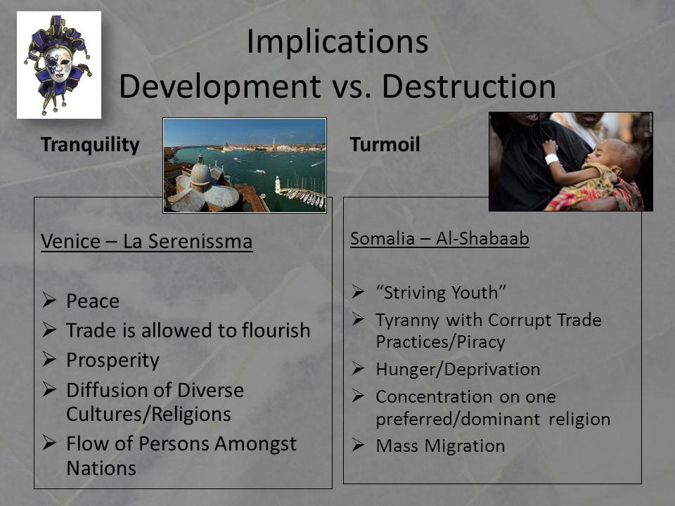 Implications Development vs.