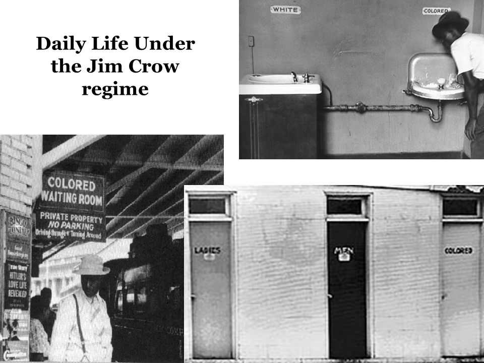 Daily Life Under the Jim Crow regime