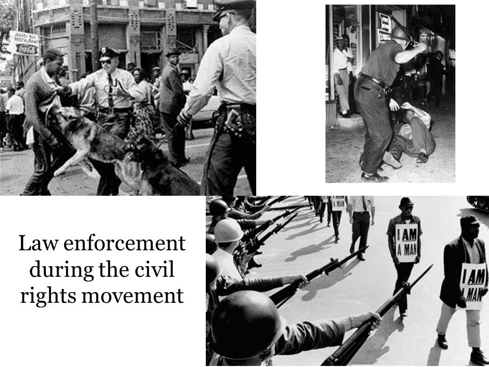 Law enforcement during the civil rights movement