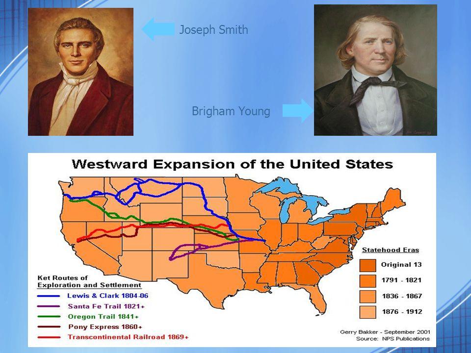 Joseph Smith Brigham Young