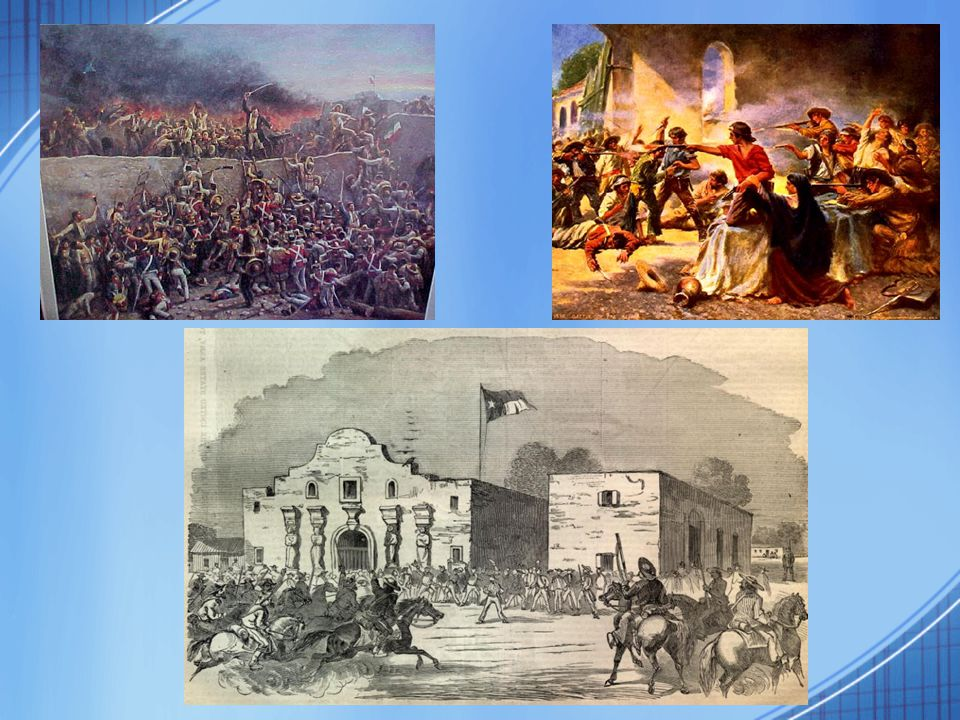 WAR WITH MEXICO President Polk supports TX & sends General Zachary Taylor to defend it American blood spilt on American soil.