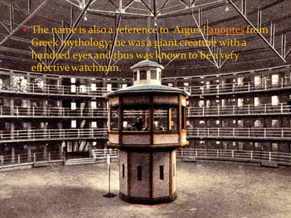 فوکو مفهوم پانوپتیکون ( نظارت فراگیر ) را از ایده های جرمی بنتام درباره طراحی زندان ها، بیمارستان ها و تیمارستان ها گرفت و برای توضیح تعیین کنندگی بستر و ساختار از آن بهره برد.