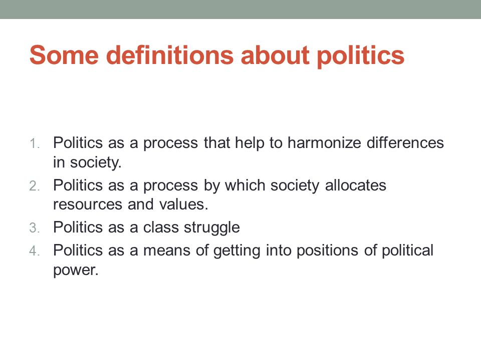 Sub-fields of Political Science It is possible to say that these two approaches try to understand society by using different models.