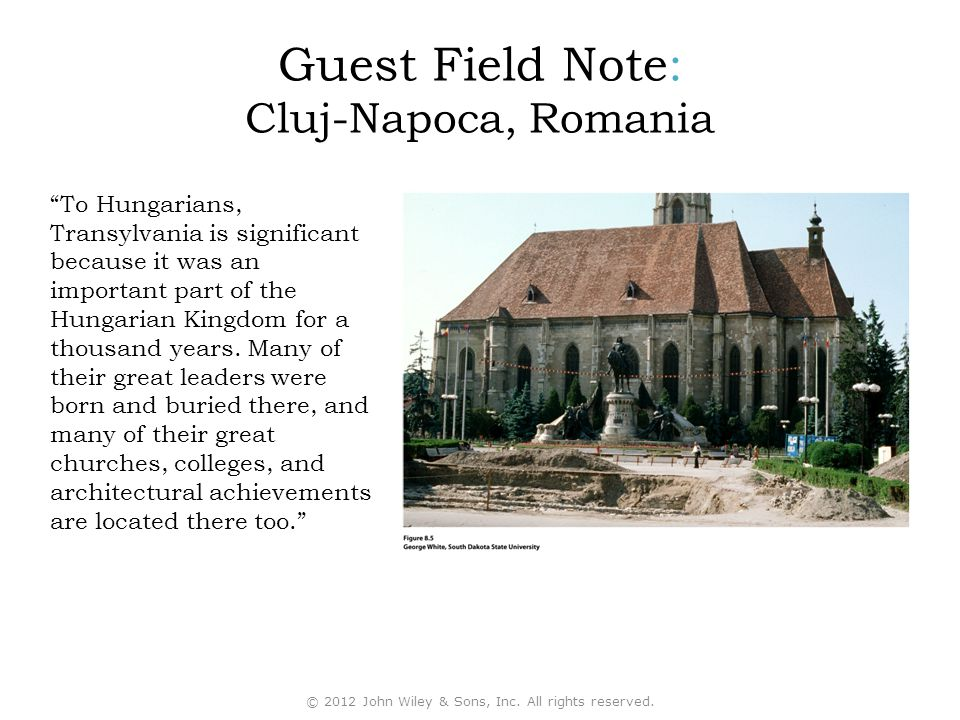 Guest Field Note: Cluj-Napoca, Romania To Hungarians, Transylvania is significant because it was an important part of the Hungarian Kingdom for a thousand years.