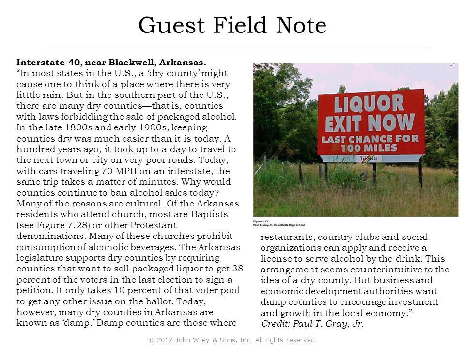 Guest Field Note Interstate-40, near Blackwell, Arkansas.