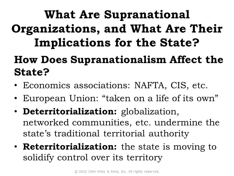 Economics associations: NAFTA, CIS, etc.
