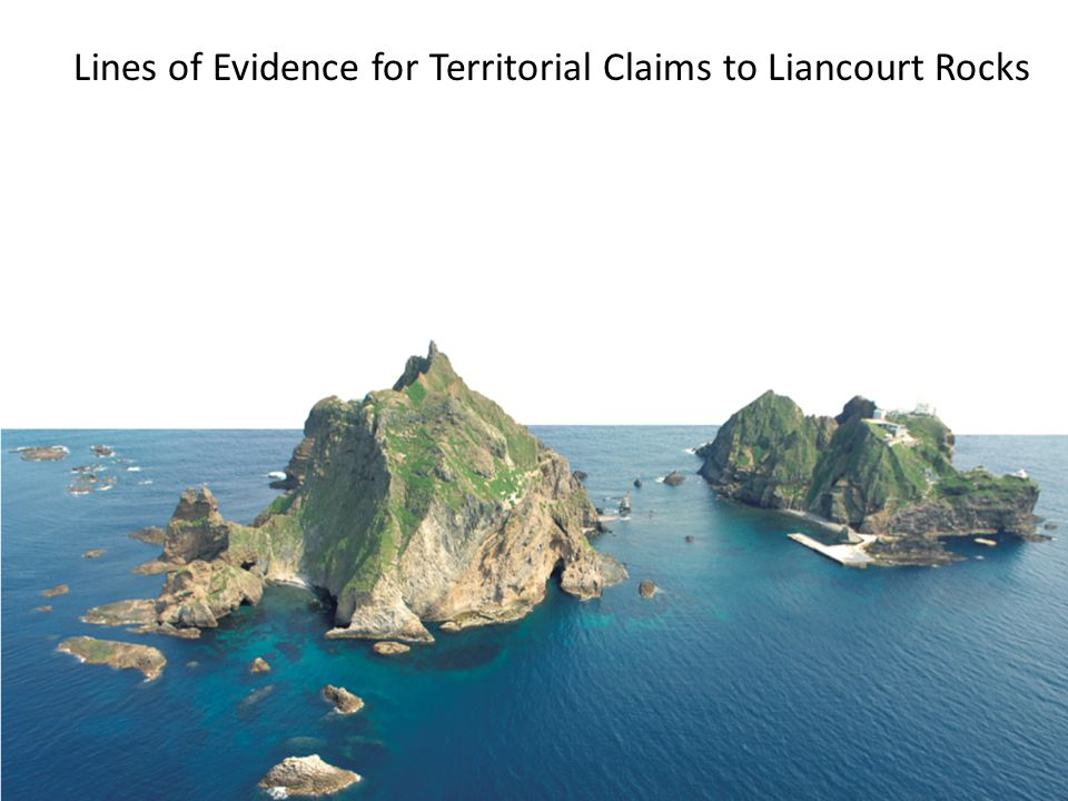 Lines of Evidence for Territorial Claims to Liancourt Rocks