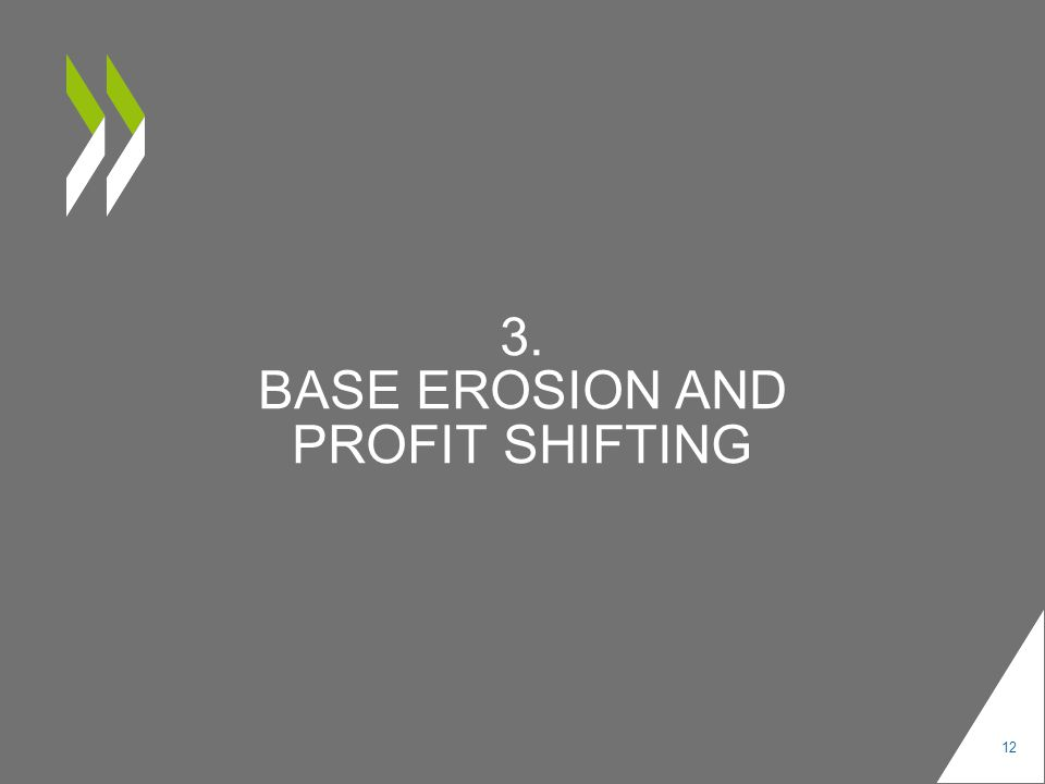 3. BASE EROSION AND PROFIT SHIFTING 12
