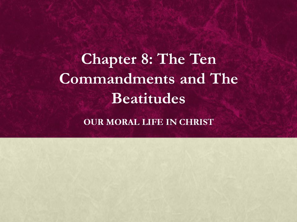 BASIC QUESTIONS  What are the Ten Commandments. How do Christians live the Ten Commandments.