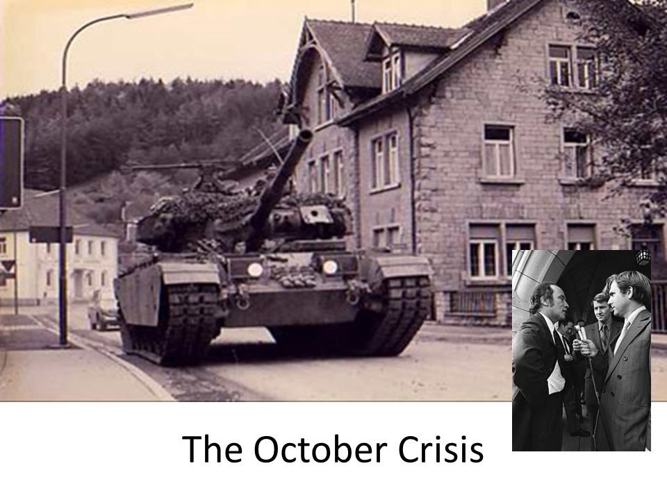 The October Crisis
