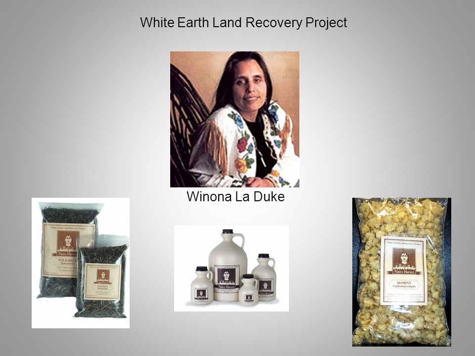 Winona La Duke White Earth Land Recovery Project
