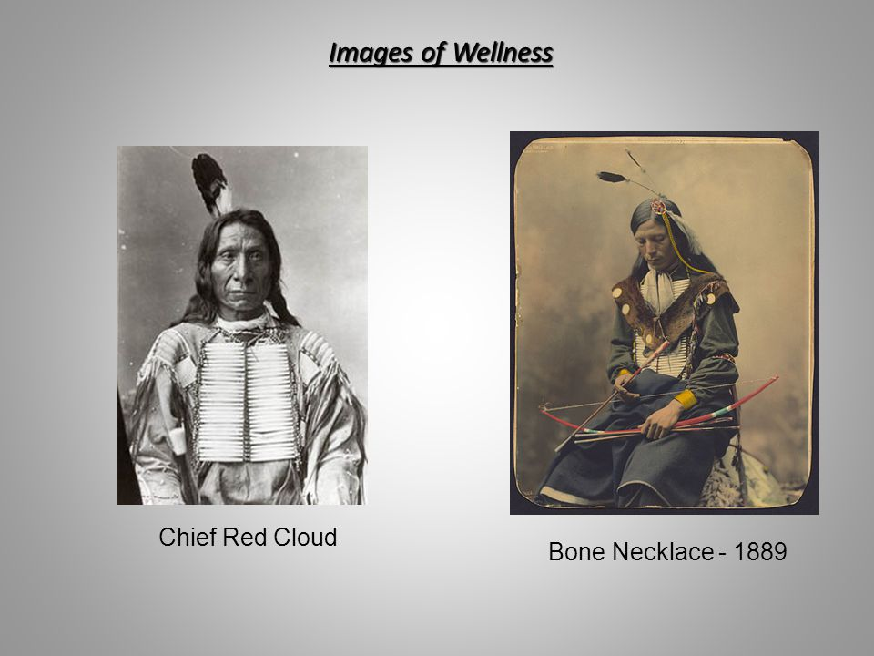 Images of Wellness Chief Red Cloud Bone Necklace - 1889