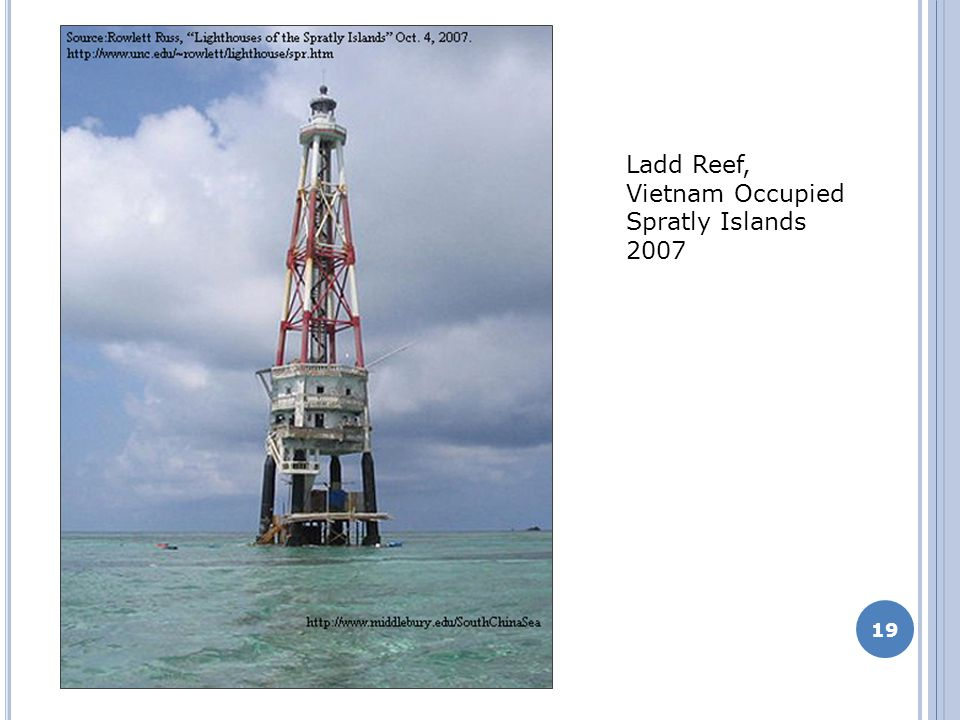 19 Ladd Reef, Vietnam Occupied Spratly Islands 2007