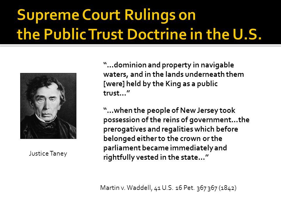 Martin v. Waddell, 41 U.S. 16 Pet.